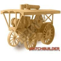Matchbuilder - c.1910 Steam Traction Engine Matchstick Kit # 6108